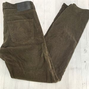 Big Star Division Straight Corduroy Jeans Pants 32